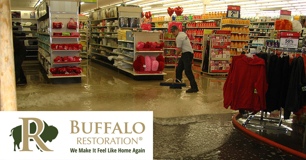 Flood Damage Restoration in Greycliff, MT