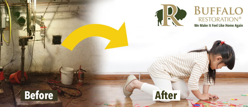 Water Damage Restoration in Pray, MT