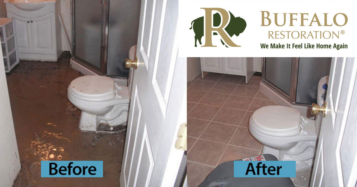 Water Damage Mitigation in Manhattan, MT