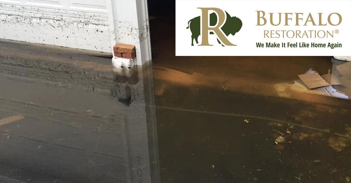 Emergency Flood Damage in Cooke City, MT