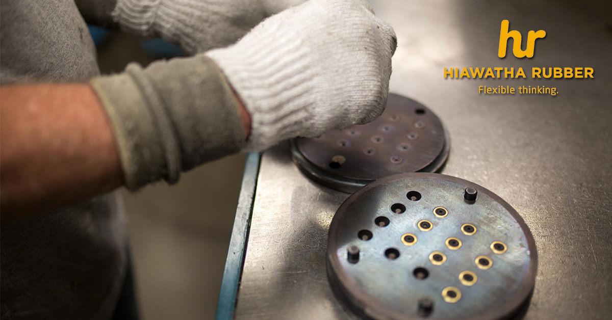 custom rubber parts in Cedar Rapids, IA
