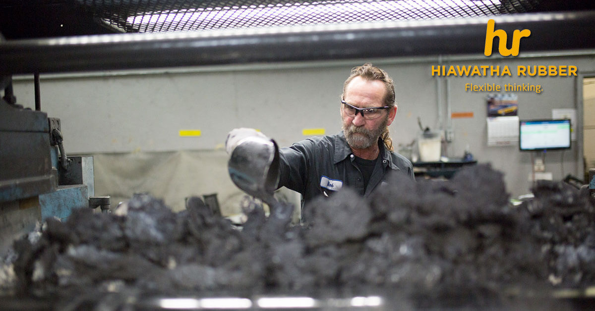 Industrial Rubber Part Manufacturing in Des Moines, IA