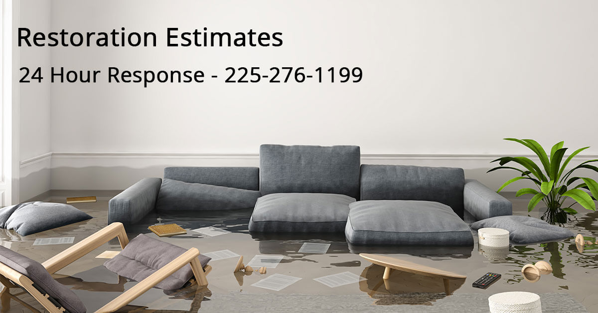 Water Mitigation Estimator in Alexandria, LA