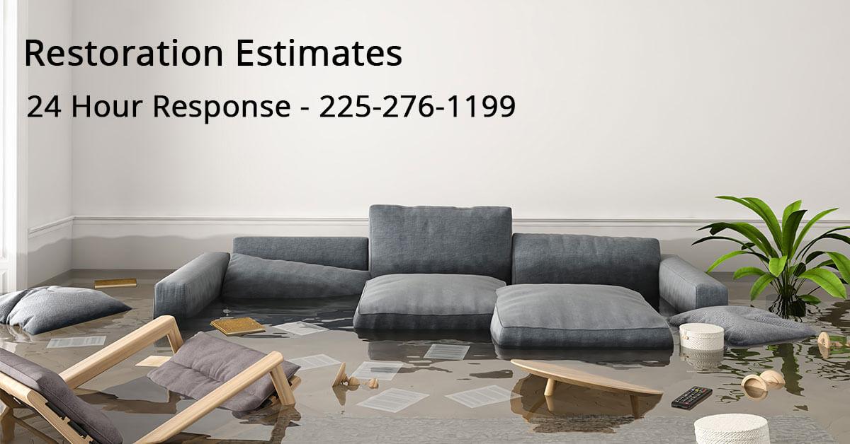 Restoration Mitigation Estimator in Lafayette, LA