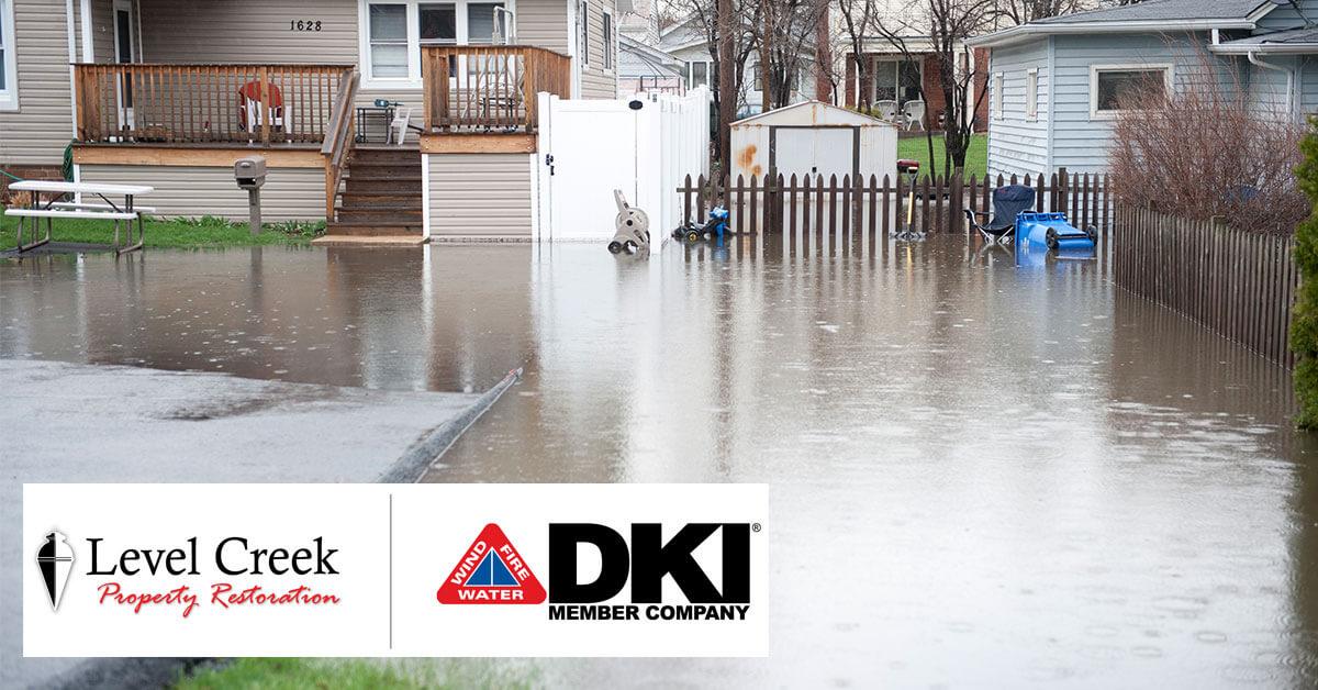 Flood Damage Restoration in Peachtree Corners, GA