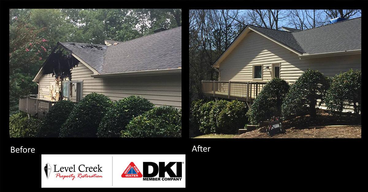 Damage Reconstruction in Loganville, GA