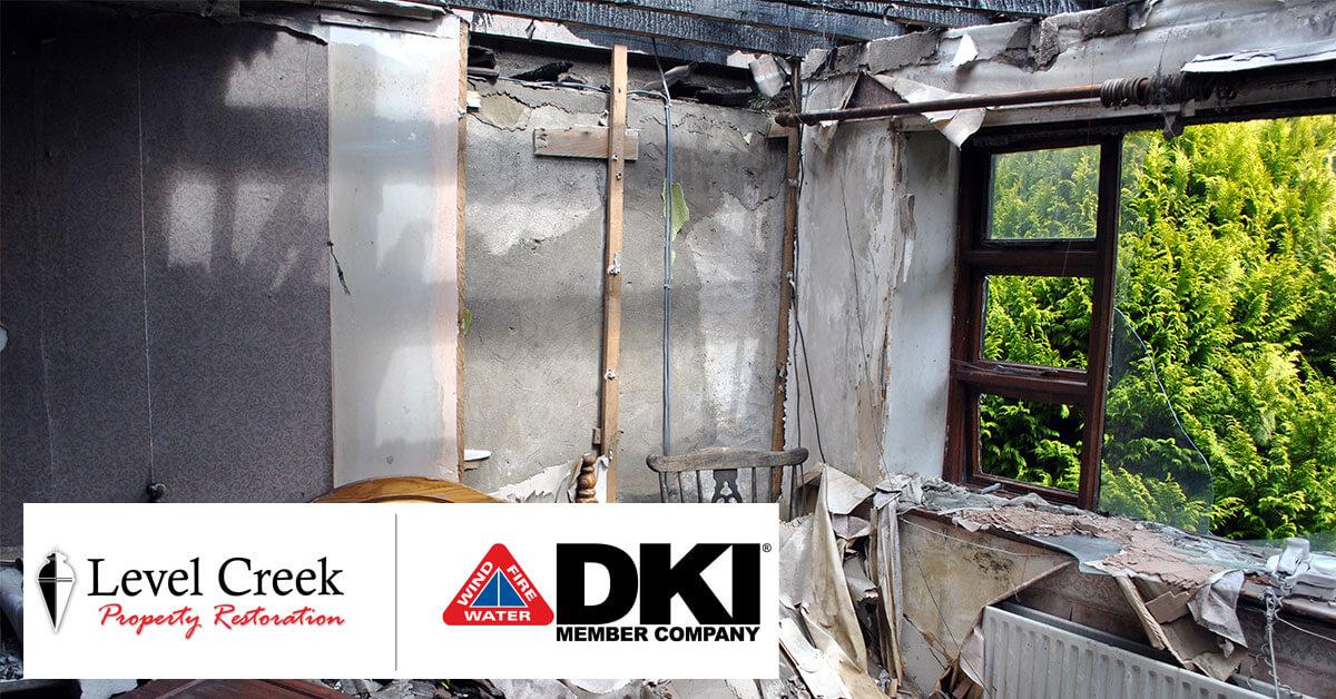 Fire and Smoke Damage Restoration in Sandy Springs, GA