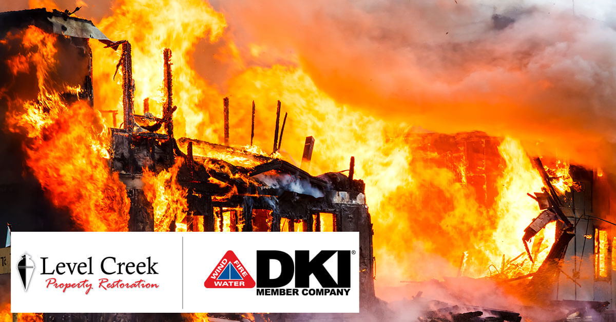 Fire Damage Restoration in Peachtree Corners, GA
