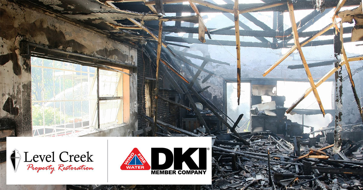 Fire Damage Restoration in Roswell, GA