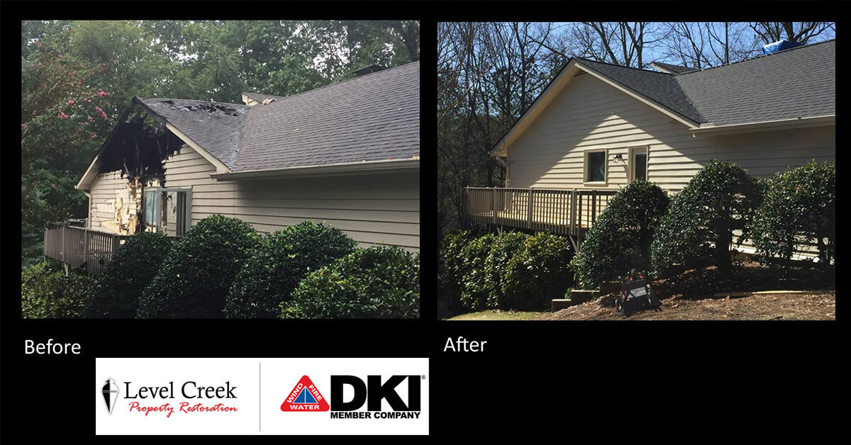 Damage Reconstruction in Lawrenceville, GA