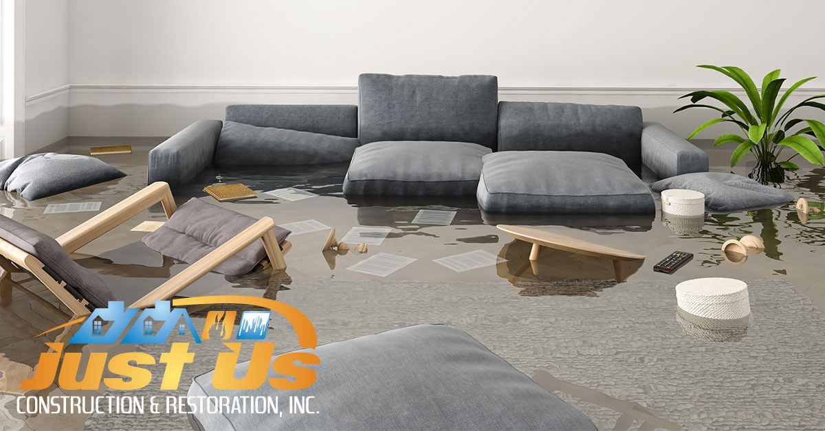 Flood Damage Repair in Andover, MN