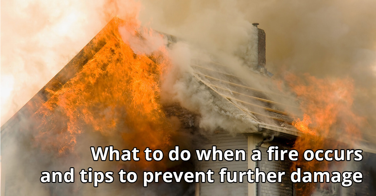 Fire Damage Cleanup Tips in Minneapolis, MN