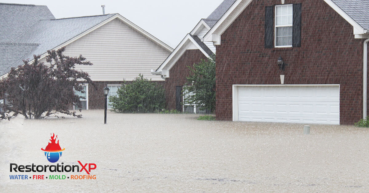 Emergency flood damage mitigation in Whitesboro, TX