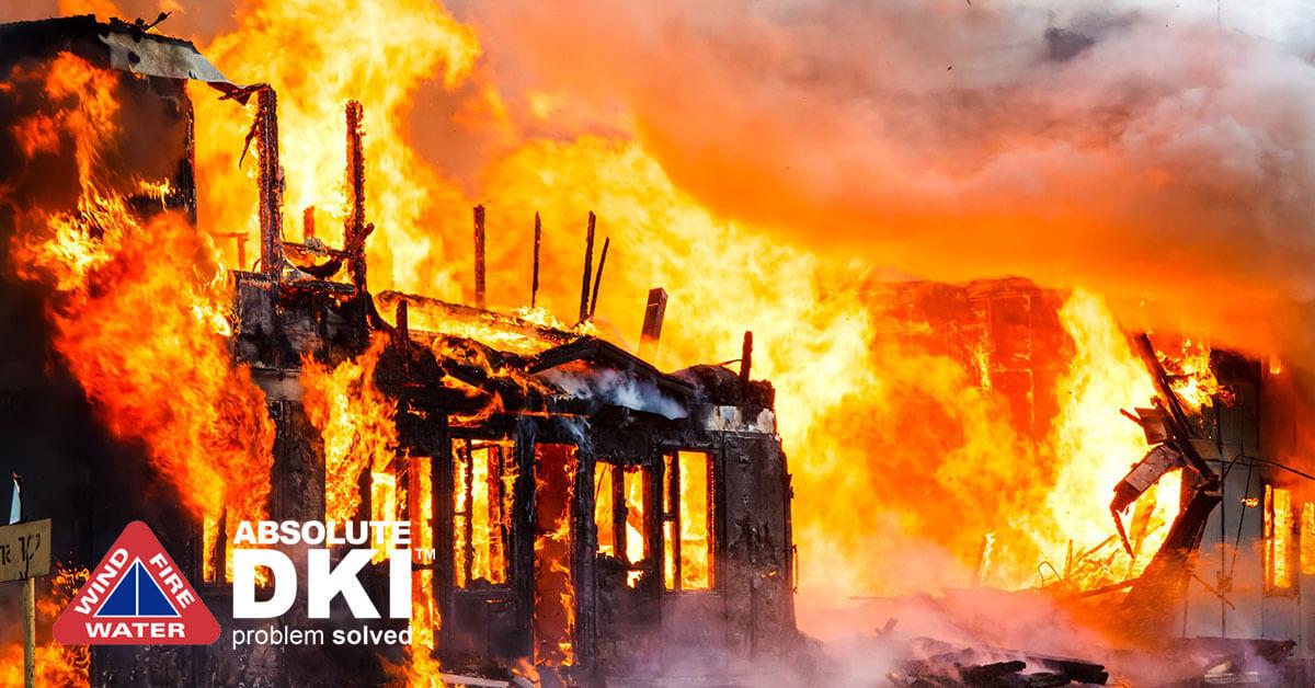 Fire Damage in Kenosha, WI