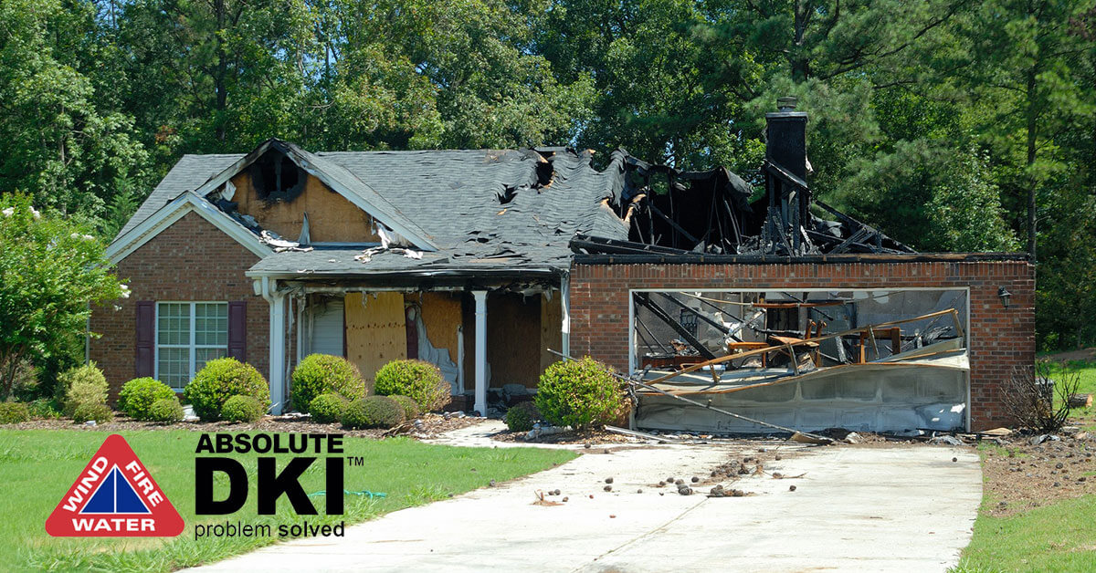 Fire and Smoke Damage Removal in Paddock Lake, WI