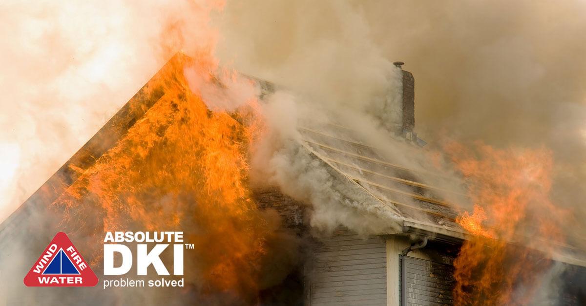 Fire Damage in Paddock Lake, WI