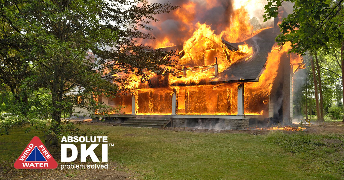 Fire Damage in Silver Lake, WI
