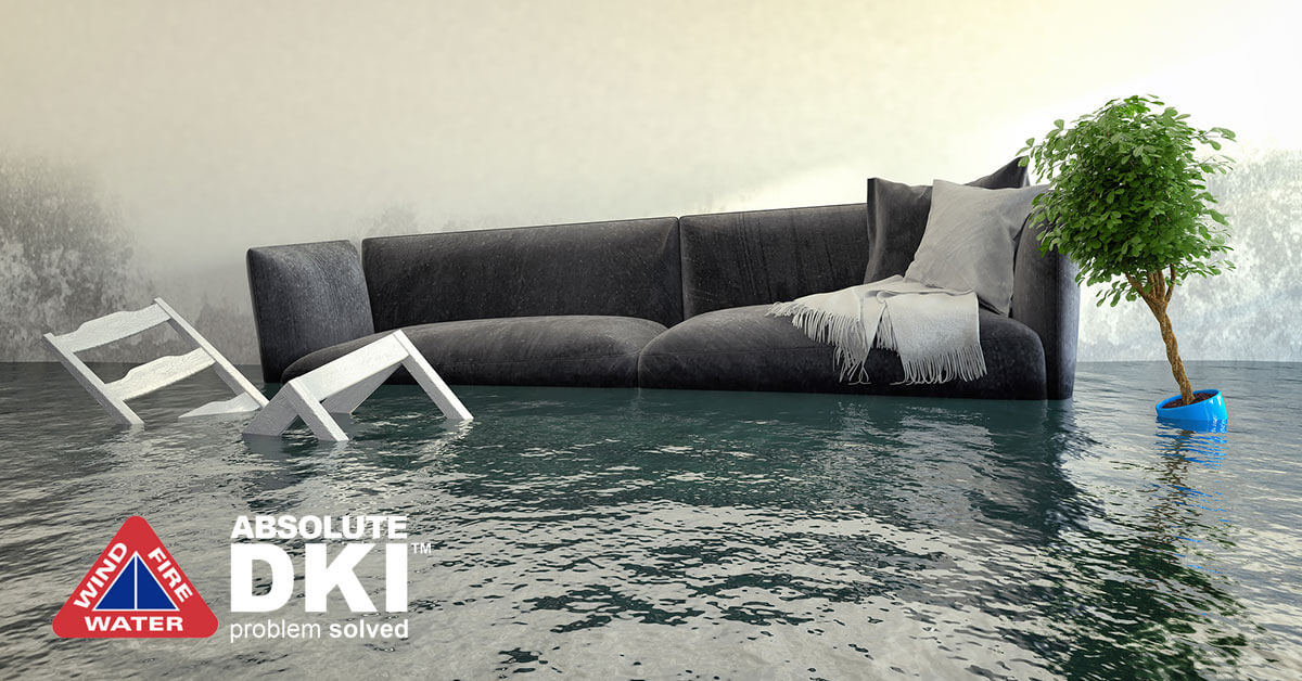 Water Damage Restoration in Twin Lakes,WI