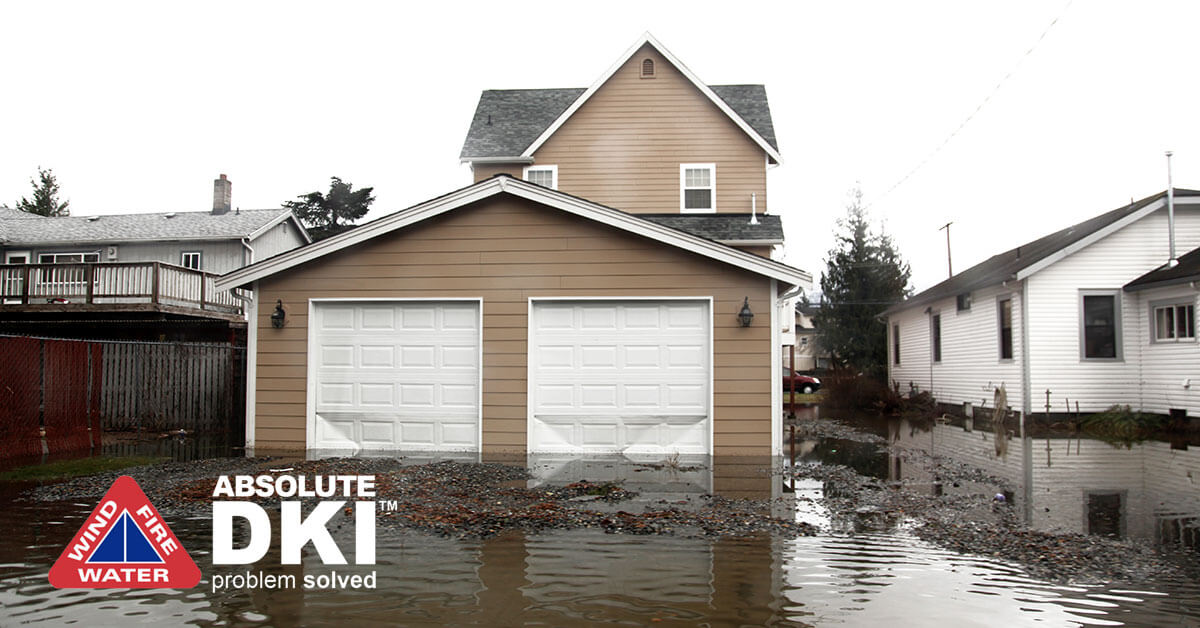 Water Damage in Salem Lakes,WI