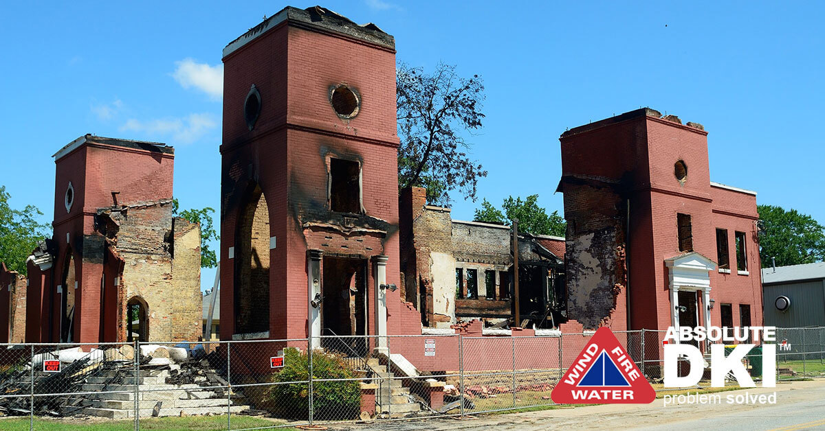 Fire and Smoke Damage Restoration in Racine, WI