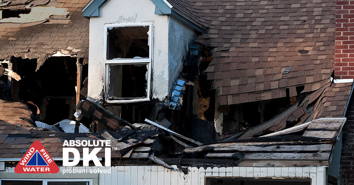 Fire Damage in South Milwaukee, WI