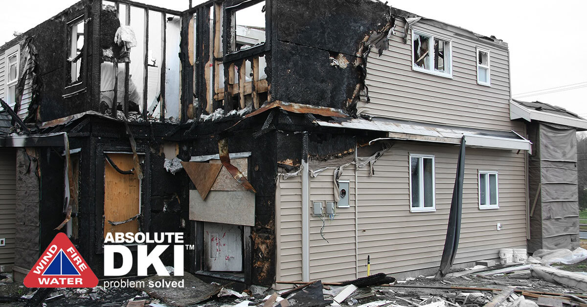 Soot Damage in Whitewater, WI