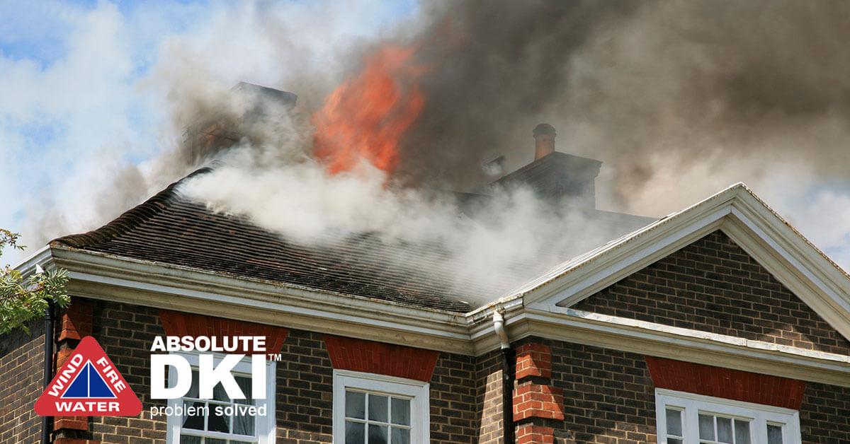 Fire Damage in East Troy, WI