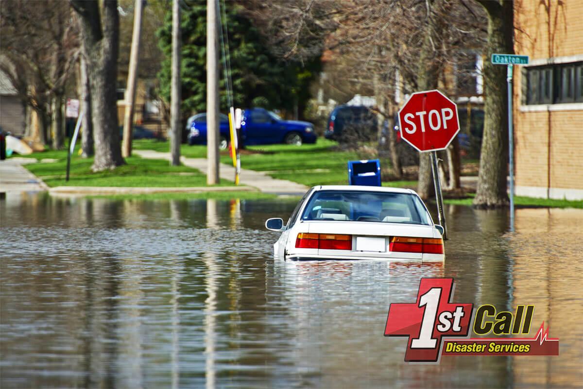 Flood Damage Cleanup in Erlanger, KY