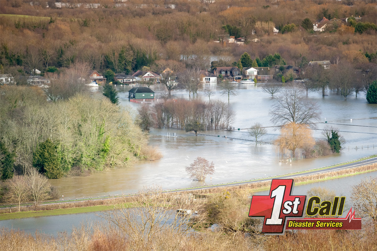 Flood Damage Cleanup in Ludlow, KY