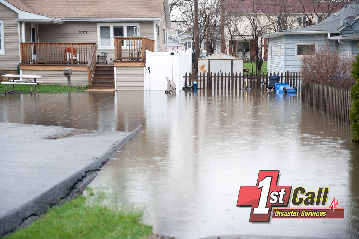 Flood Damage Cleanup in Erlanger, KY