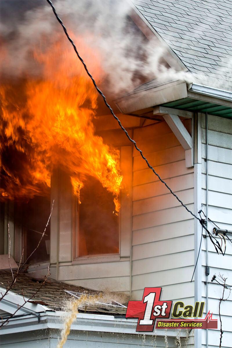 Fire Damage Cleanup in Cincinnati Area