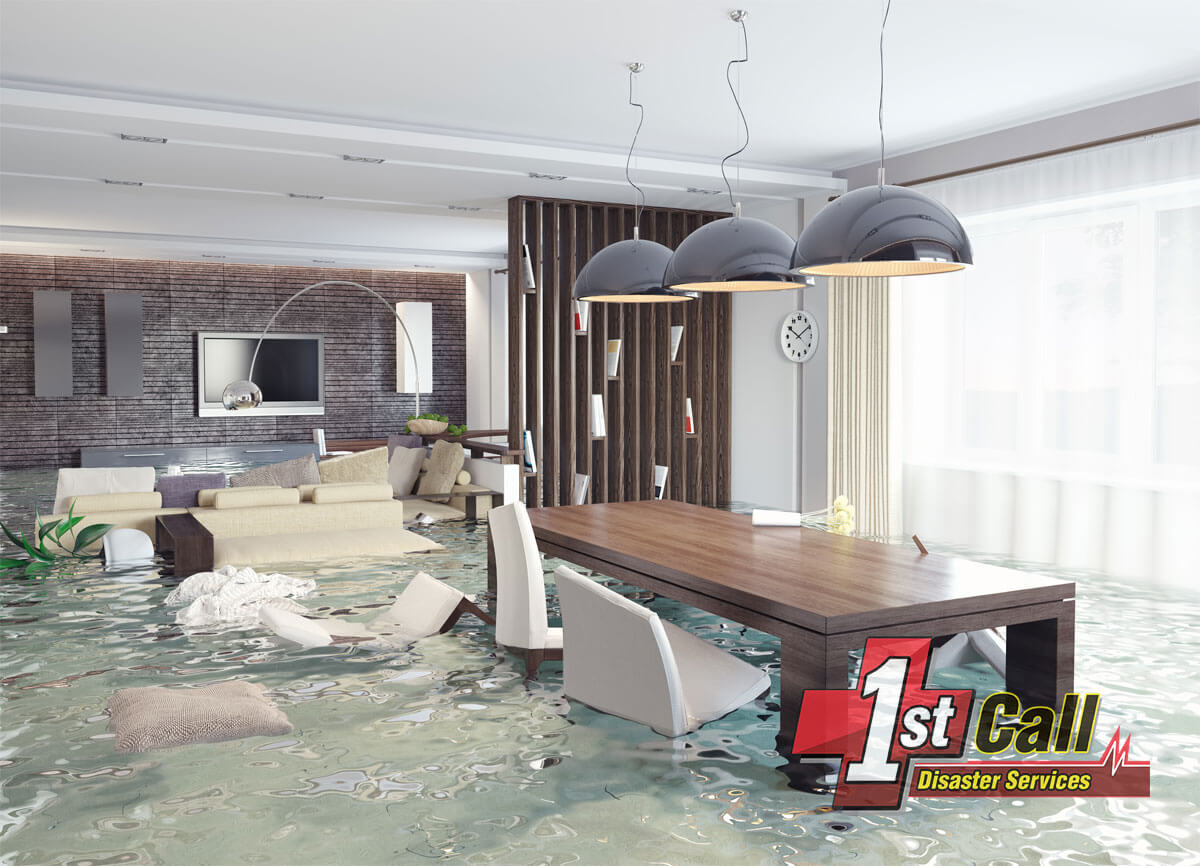 Flood Damage Cleanup in Florence, KY