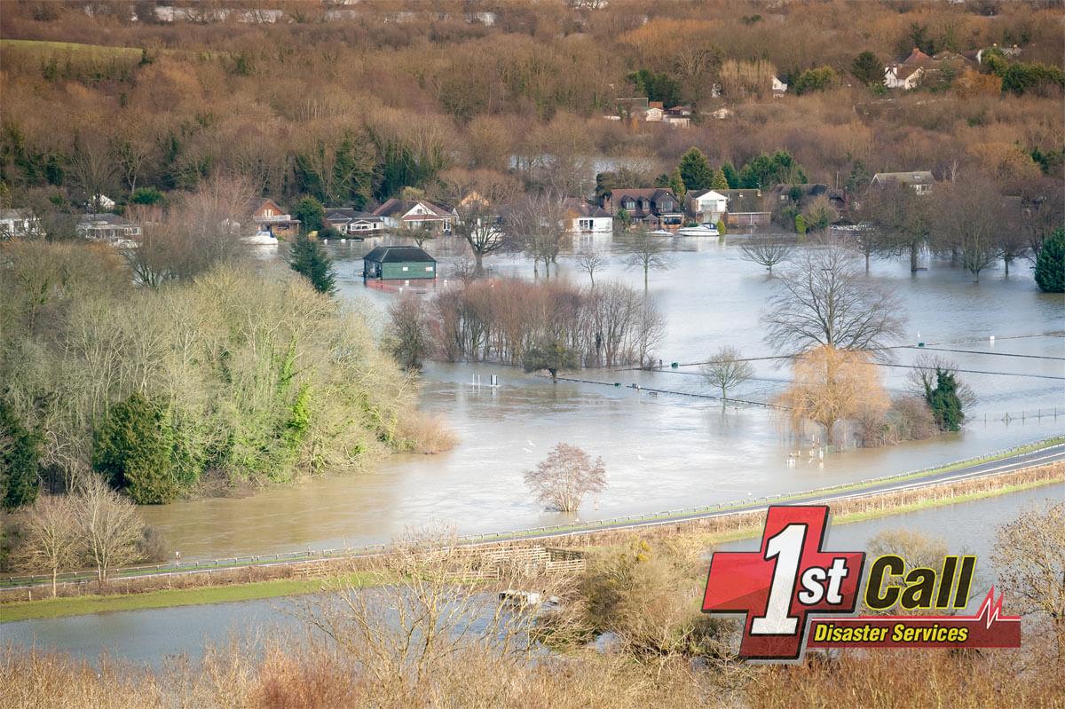 Flood Damage Cleanup in Frankfort, KY