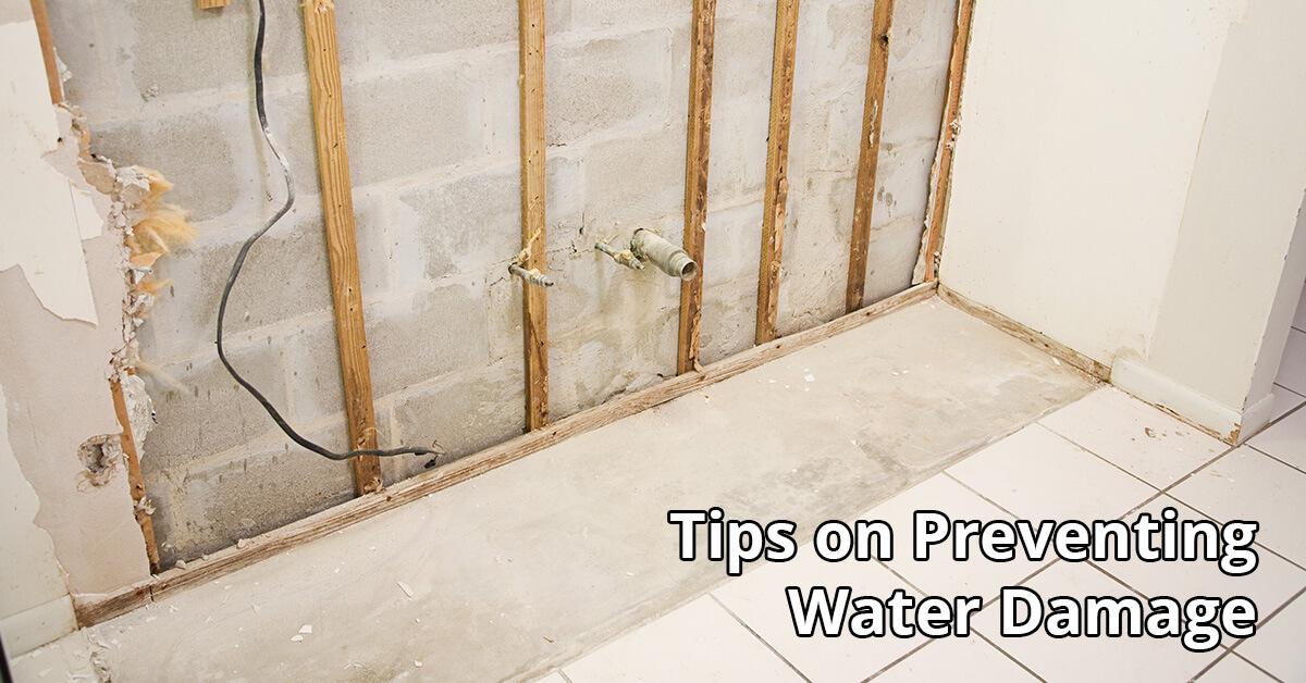 Water Damage Repair Tips in Edgewood, KY