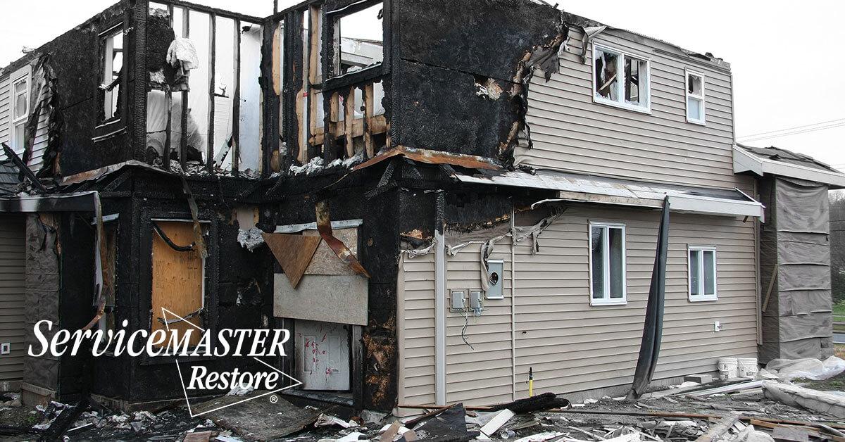 Fire and Smoke Damage Restoration in Charlottesville, VA