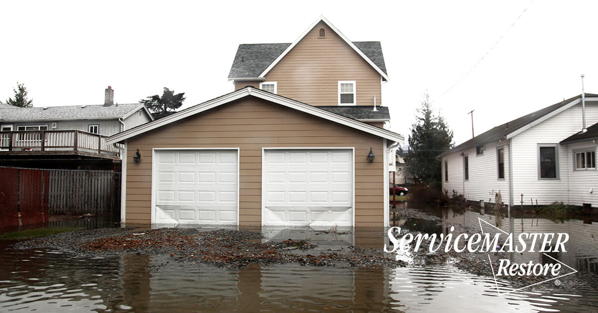Flood Damage Restoration in Mineral, VA