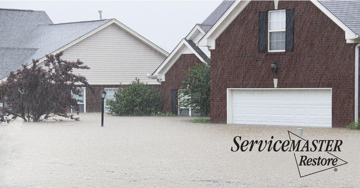 Flood Damage Restoration in The Plains, VA