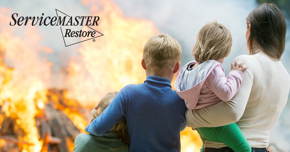 Fire Damage Remediation in Fork Union, VA