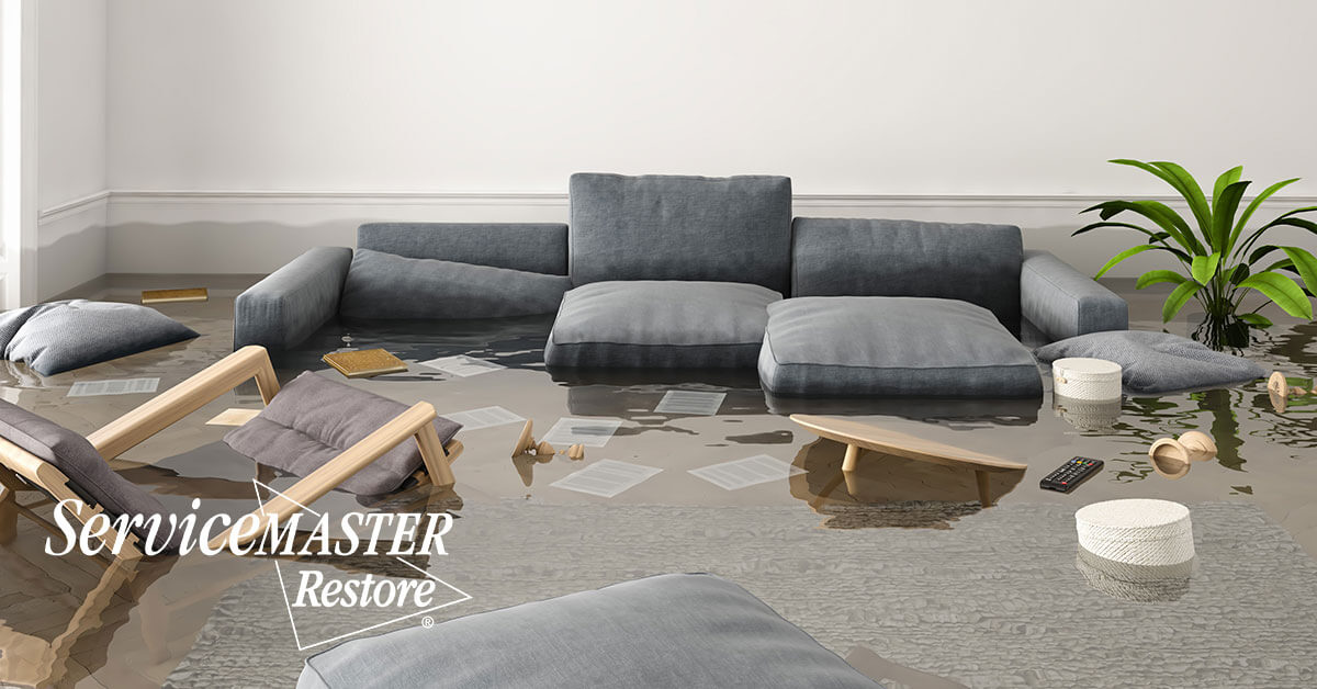 Water Damage Repair in Mineral, VA