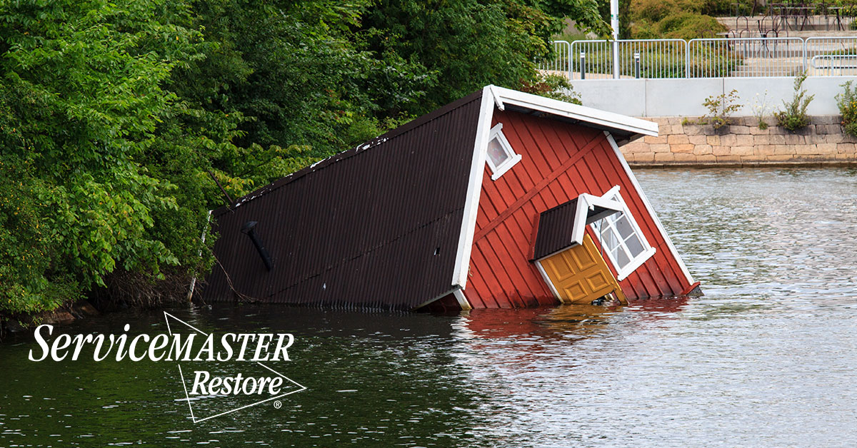 Flood Damage Restoration in Palmyra, VA
