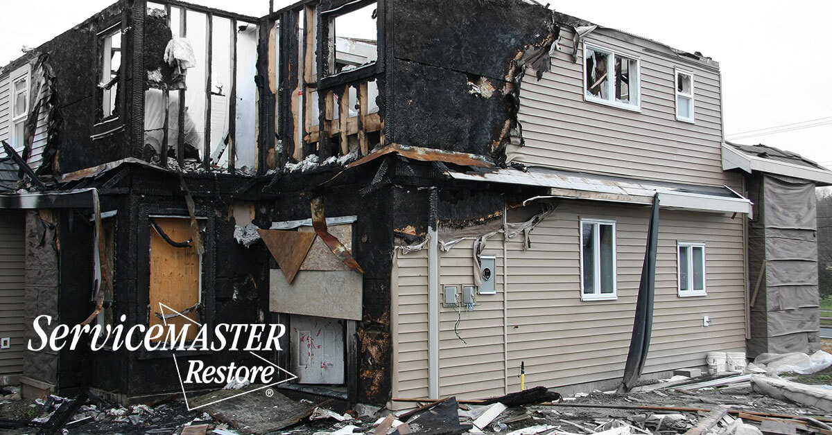 Fire Damage Cleanup in Blue John, KY
