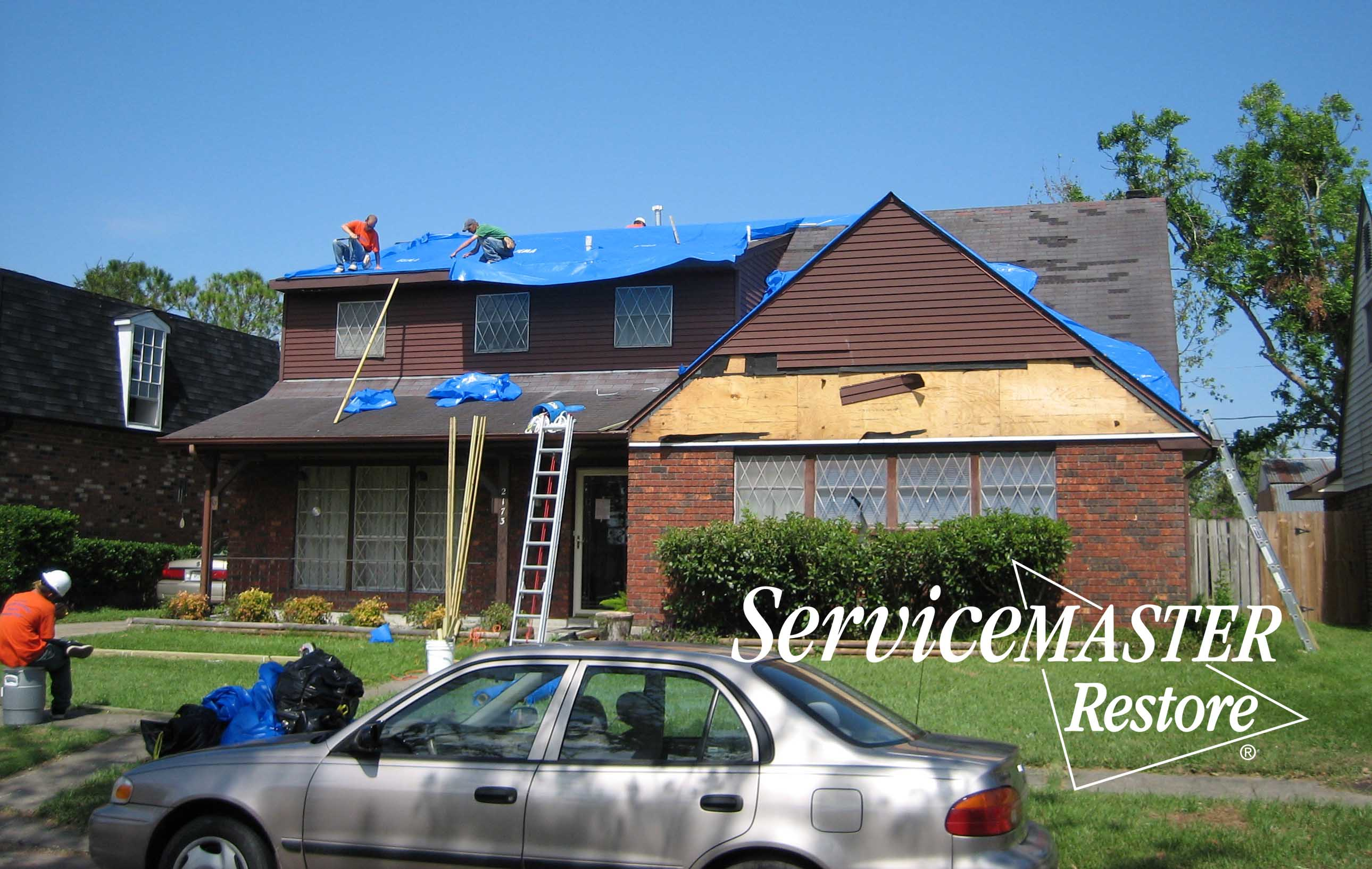 Wind Damage Repair in Shopville, KY