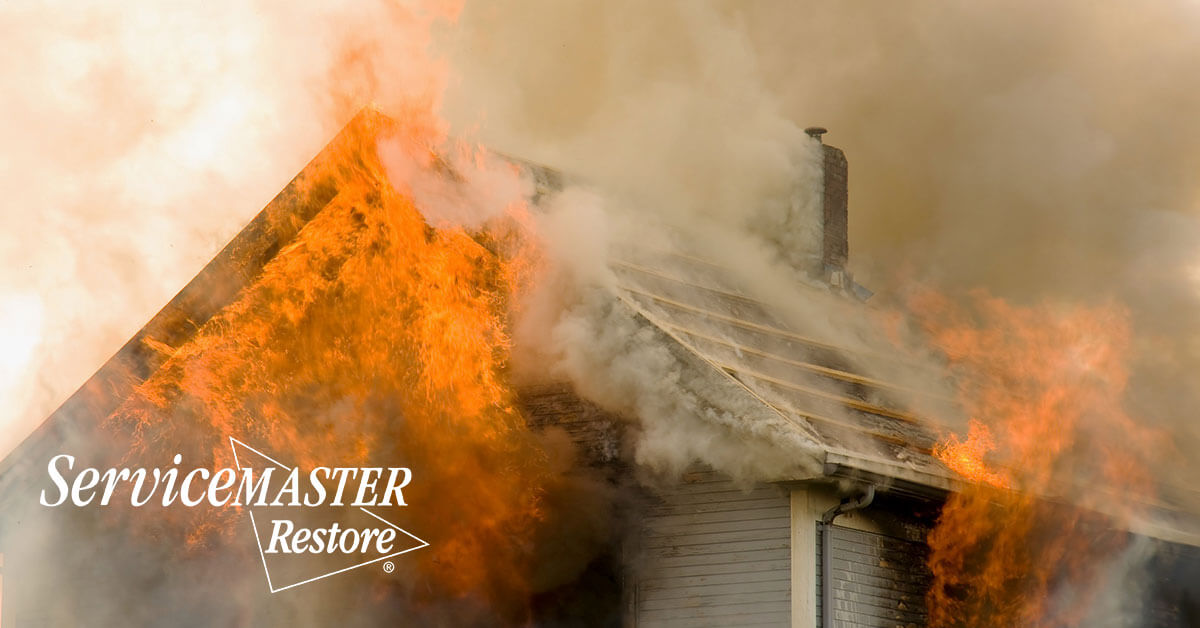 Fire and Smoke Damage Restoration in Squib, KY