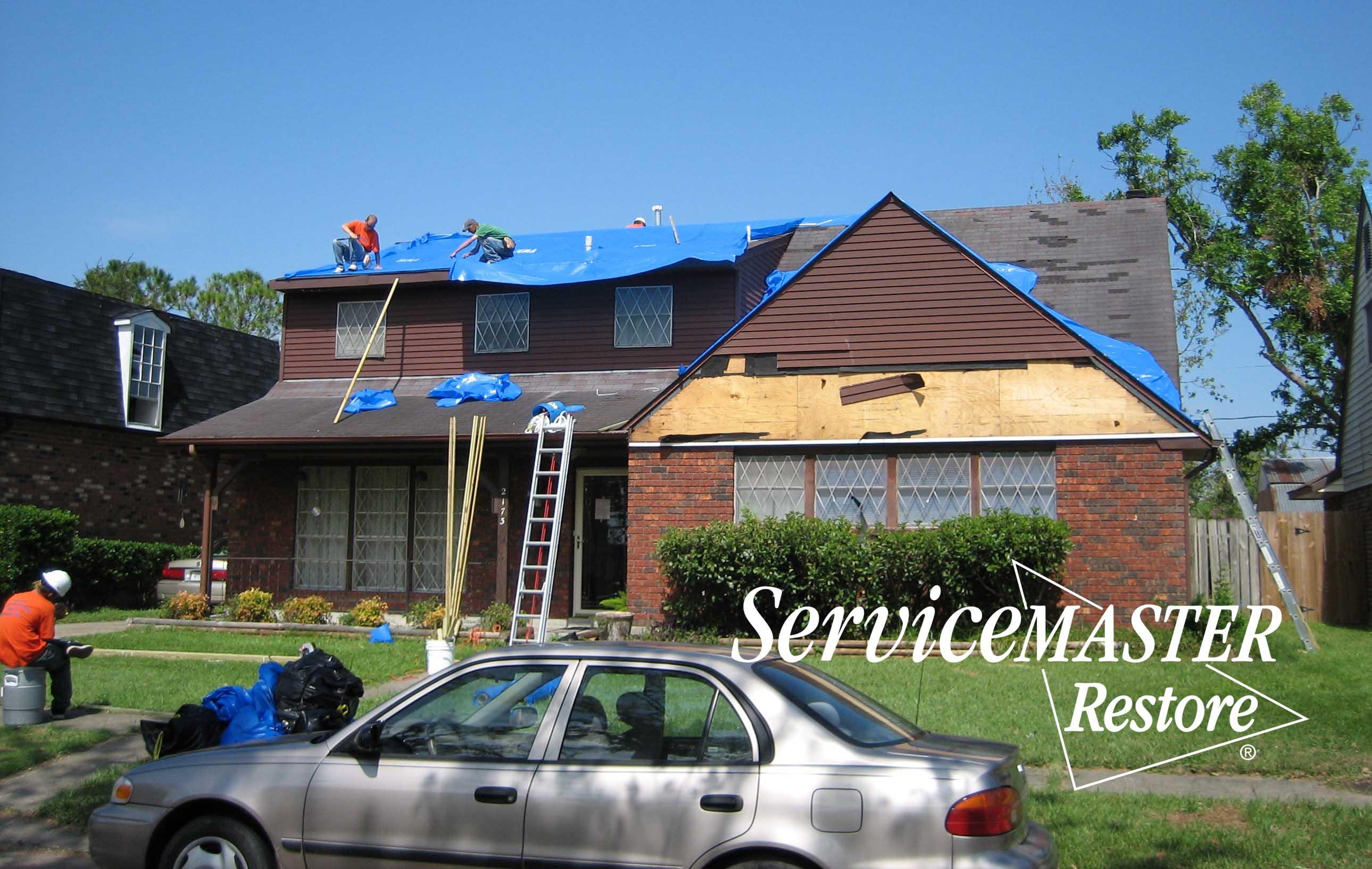 Wind Damage Remediation in Tateville, KY