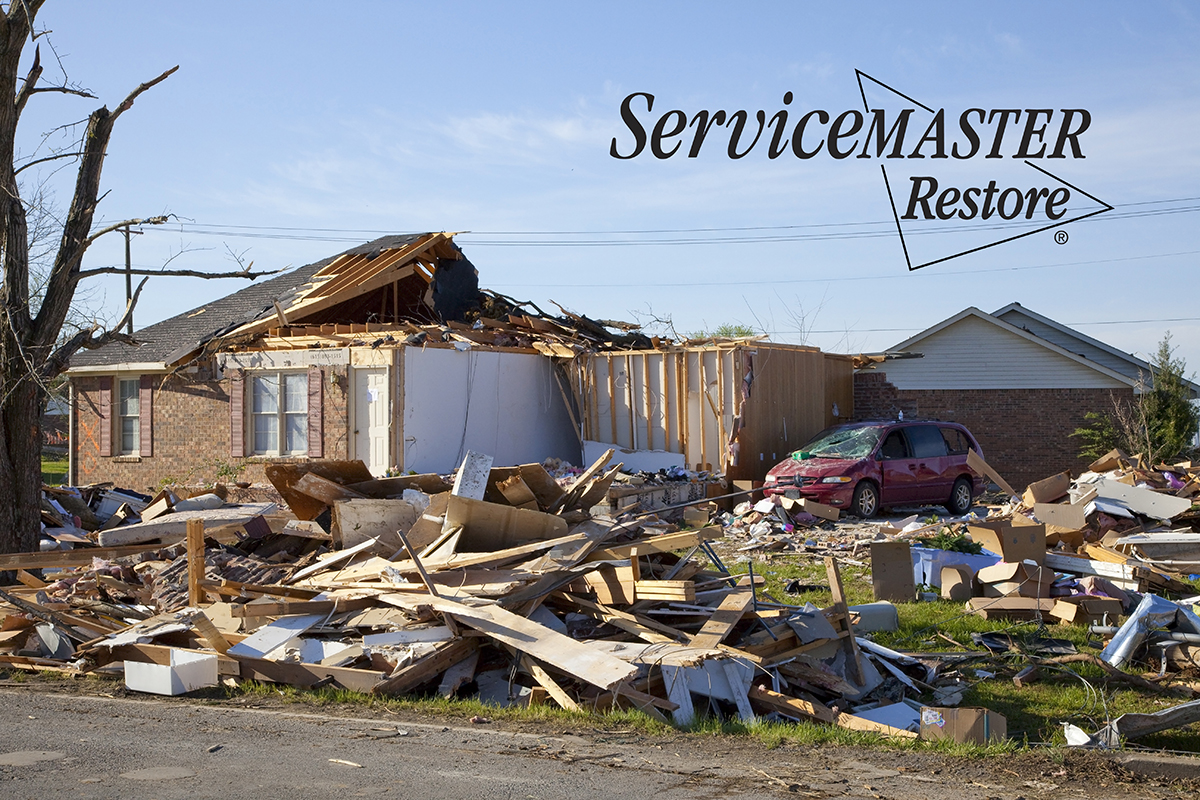 Tornado Damage Restoration in Dabney, KY