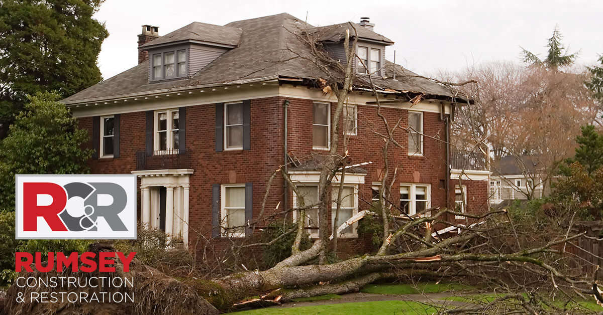 Storm Damage Remediation in Harrisburg, NC