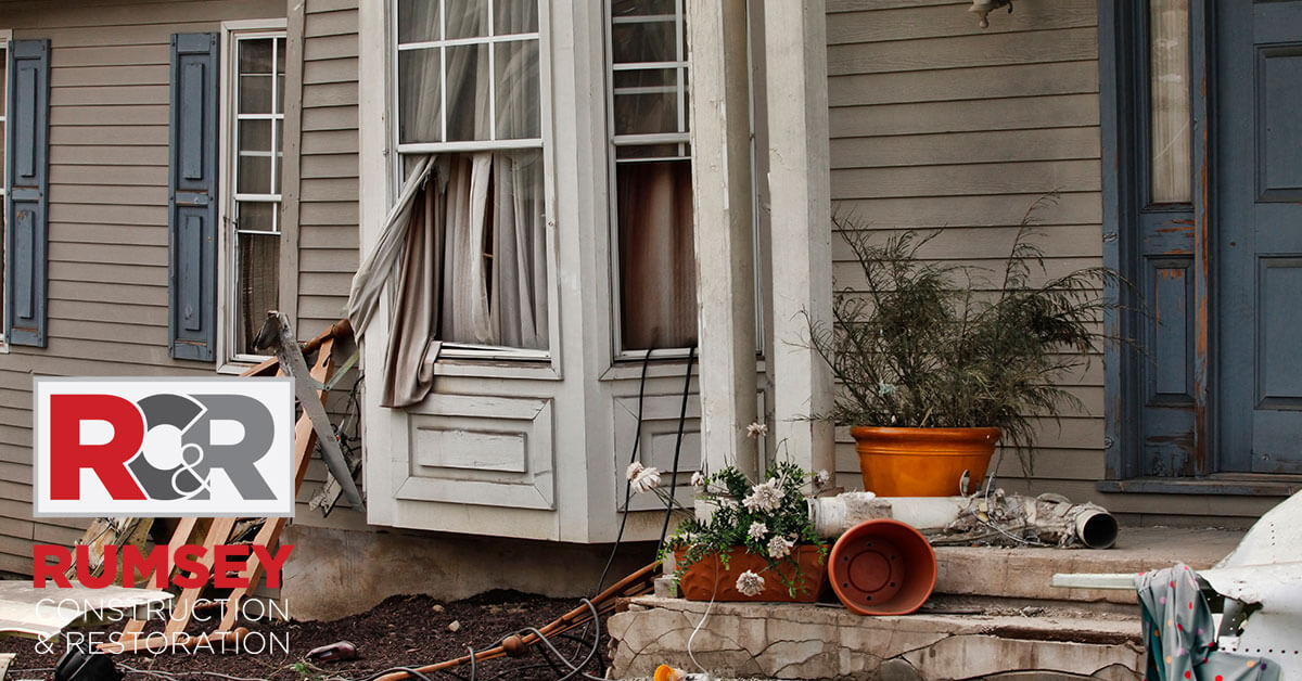 Storm Damage Remediation in Stallings, NC