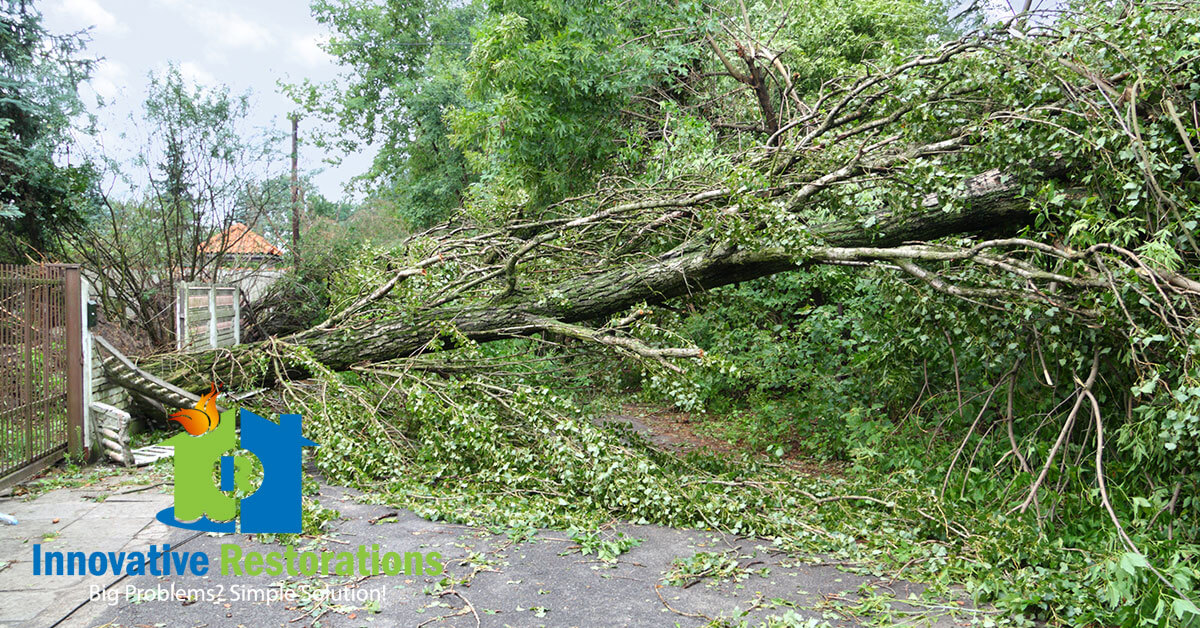 Storm Damage Restoration in Cookeville, TN