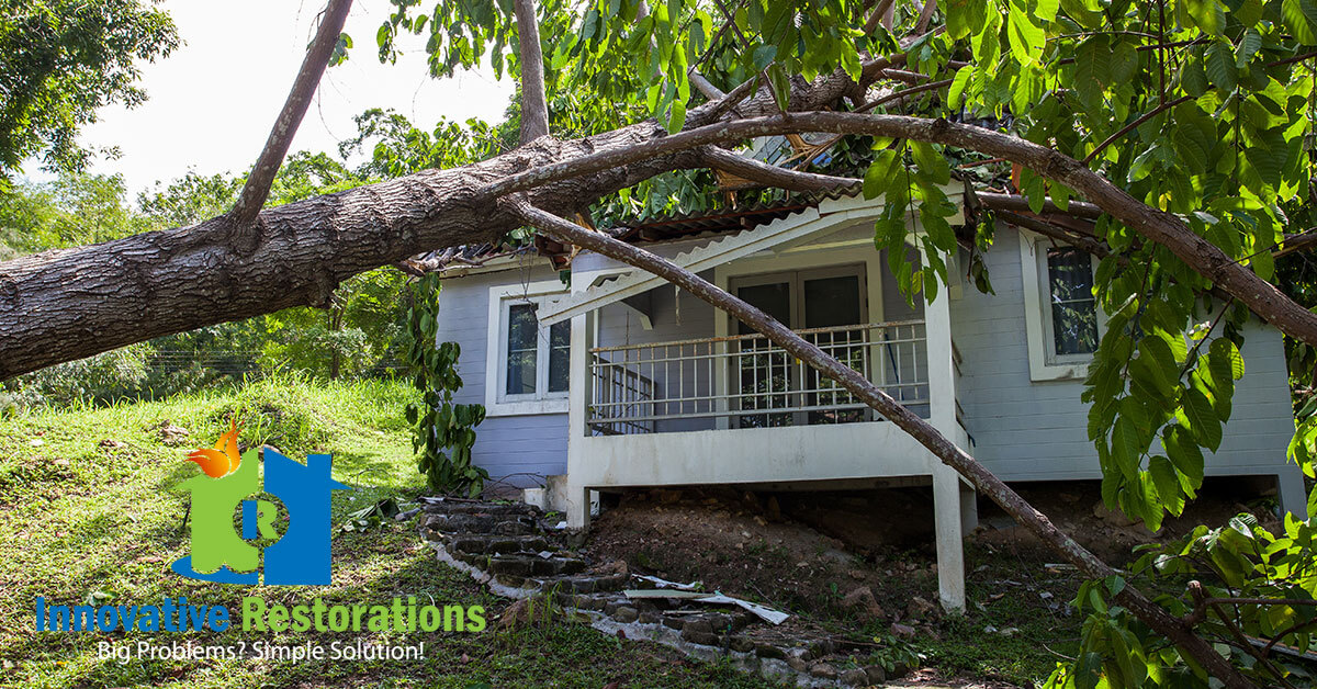 Storm Damage Restoration in Monterey, TN