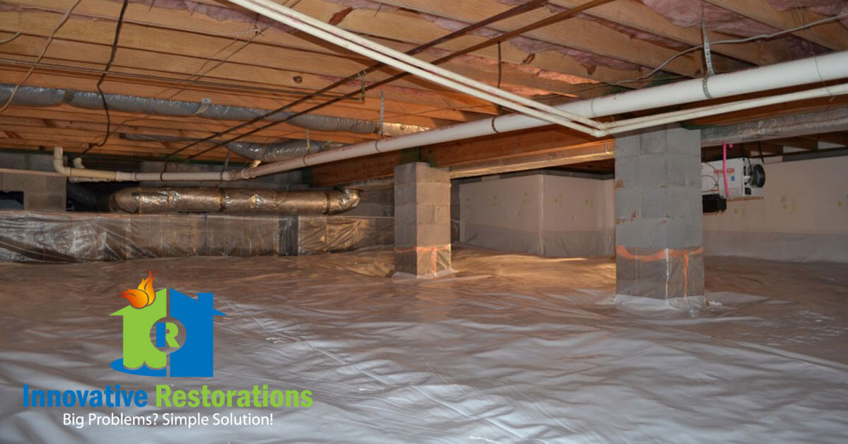 Crawl Space Waterproofing in Pleasant Hill, TN